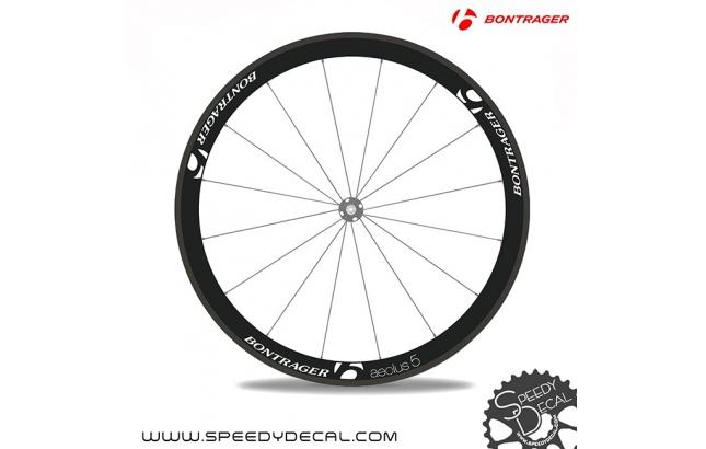 Bontrager Aeolus 5 adesivi personalizzati per ruote