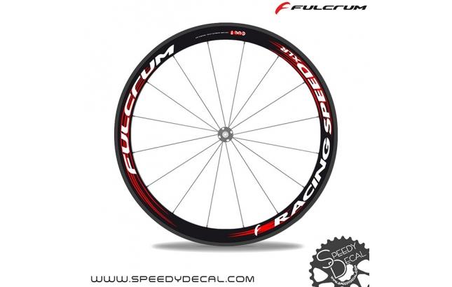 Fulcrum Racing Speed XLR cult - adesivi personalizzati per ruote strada