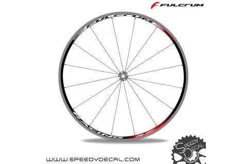 Fulcrum Racing 5 - adesivi personalizzati per ruote strada