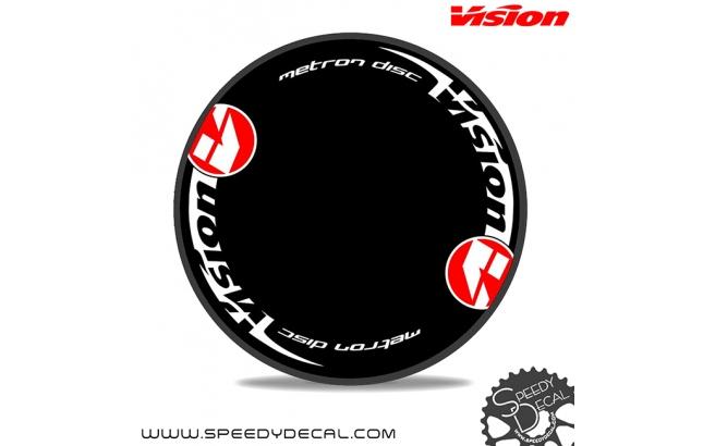 Vision Metron disc - adesivi per ruota lenticolare