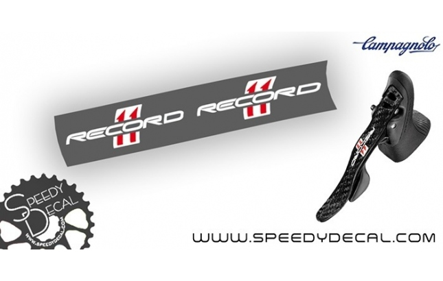 Campagnolo Record 11 - adesivi personalizzati per leve freni