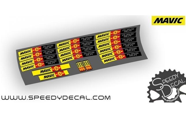 Mavic R-SYS SLR - Adesivi personalizzati per ruote strada