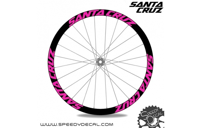 Santa Cruz Bicycles - adesivi per ruote