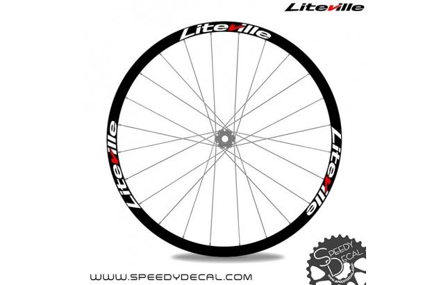 Liteville - Adesivi personalizzati per cerchio con logo