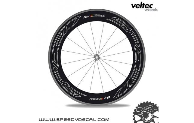 Veltec Speed 8.0 - adesivi personalizzati per ruote strada
