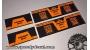 Rock Shox Monarch plus RC3 e RT3 DebonAir adesivi personalizzati