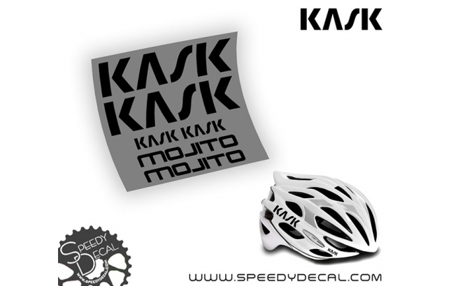 Kask Mojito 2017 - kit di adesivi per casco