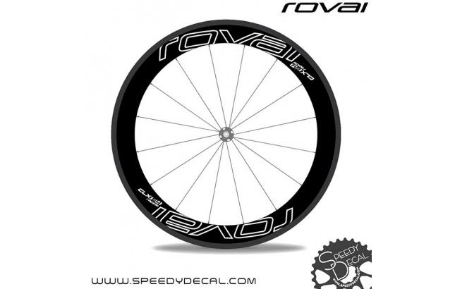 Roval Rapide CLX 64 2017 - adesivi personalizzati per ruote strada