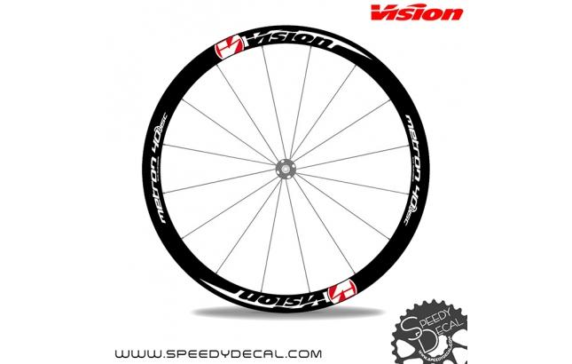 Vision Metron 40 Disc - adesivi personalizzati per ruote strada