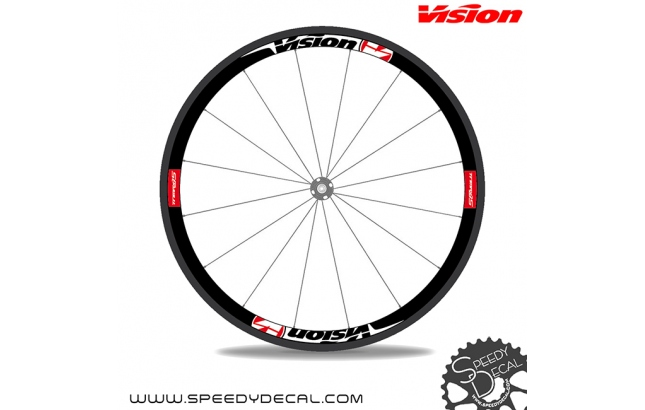Vision TRIMAX 35 - adesivi personalizzati per ruote strada