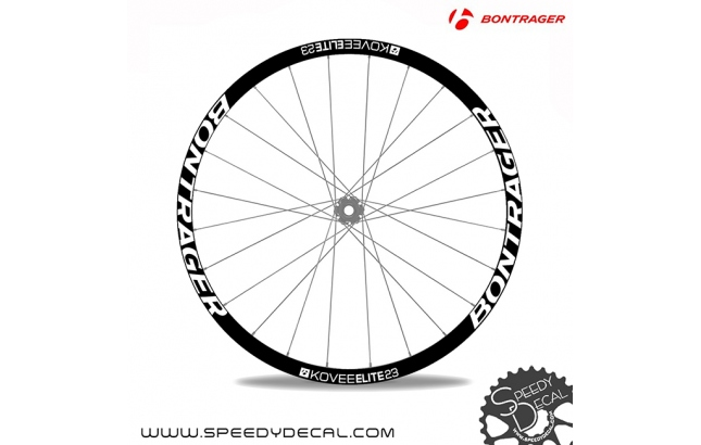Bontrager Kovee Elite 23 - adesivi per ruote